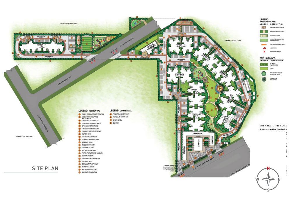 signature global superbia site plan